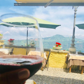 Wine with a view :)