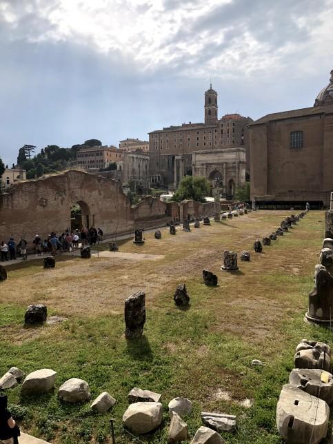 Inside of Roman Forum & Palatine Hill