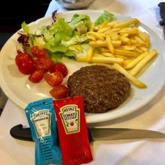 """This is know as an """"Italian Hamburger"""" AKA No Bun!"""