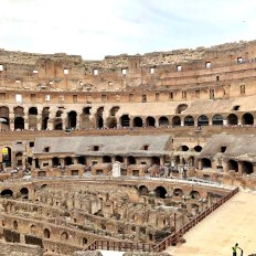Inside view of Colesseum